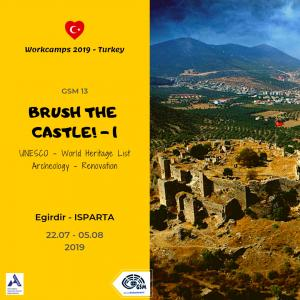 TR-GSM 12 13 Brush the Castle 1 - SCI International Voluntary Projects